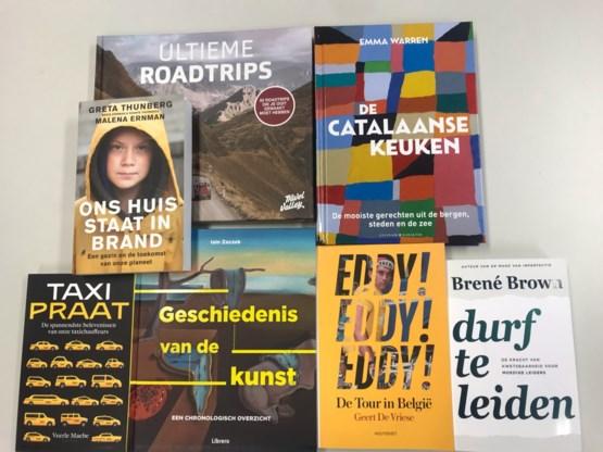 Deze boeken deed Sven Gatz cadeau aan zijn collega's