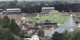 Luchtbeelden van eerste dag Tomorrowland