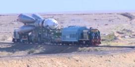 Sojoez MS-13-ruimteschip klaar voor lancering in Kazachstan