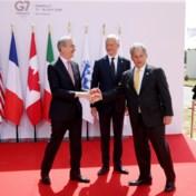 G7 zet eerste stap naar minimale bedrijfstaks