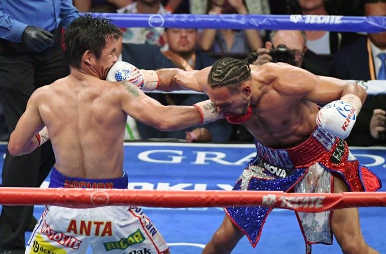 Manny Pacquiao verslaat Keith Thurman op punten