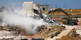 Israël sloopt Palestijnse gebouwen bij omheining Oost-Jeruzalem