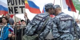 Moskou op straat tegen buitenspel zetten oppositiekandidaten