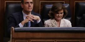 Sánchez verliest eerste vertrouwensstemming in Spaans parlement