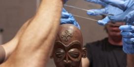 Gestolen masker exclusief in Bozar te zien