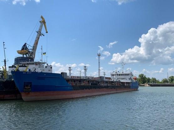 Oekraïne legt Russische tanker aan ketting