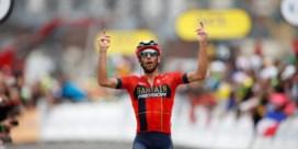 Nibali wint loodzware, ingekorte Alpenrit, Bernal allicht eindwinnaar Tour
