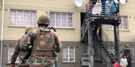 Zelfs leger kan gangsters in Kaapstad niet stoppen