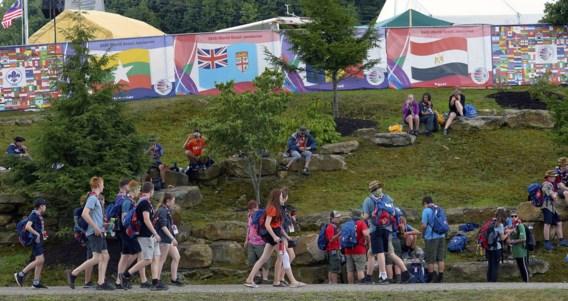 Zeven Vlaamse scouts doen toch mee aan schietoefeningen in VS