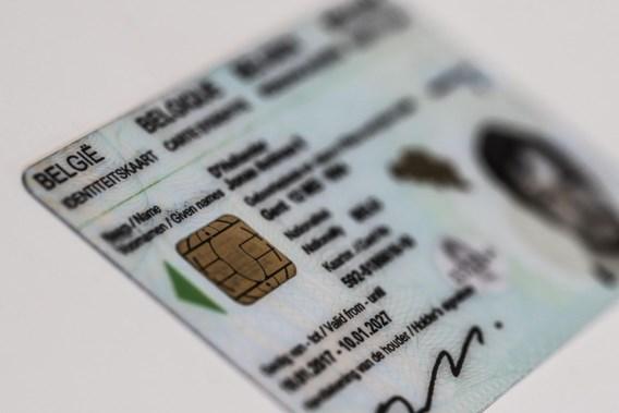 Vingerafdrukken pas op identiteitskaart in 2020