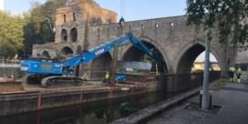 Afbraak Pont des Trous van start gegaan in Doornik tot ongenoegen van Marghem