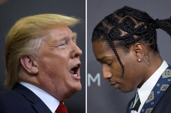 Rapper mag terug naar VS, Trump blij: <i>'Get home A$ap'</i>
