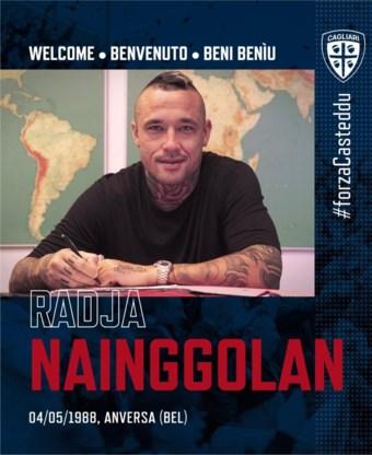 Nu ook officieel: Nainggolan keert terug naar zijn eerste Italiaanse liefde Cagliari
