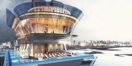 Even hoog als Tour Montparnasse: dit wordt het hoogste zwembad van Dubai