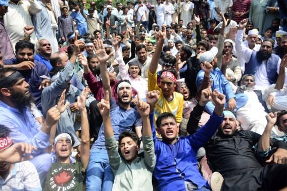 Spanning in Kasjmir blijft oplopen: drie politici vastgehouden