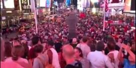 Times Square in rep en roer na vrees voor aanslag