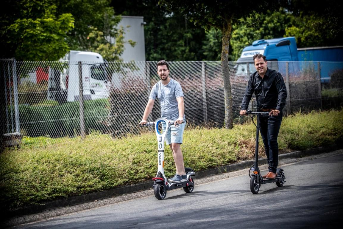 Elektrische Step Ook In Limburg Aan Opmars Bezig De Standaard Mobile