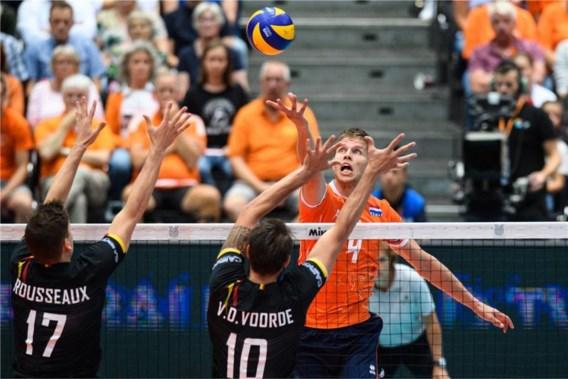 Volleybal: geen olympische kwalificatie voor Red Dragons na droge nederlaag tegen Nederland