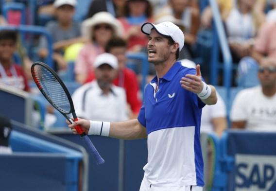 Andy Murray verliest bij rentree in het enkelspel