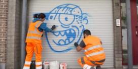 '95 procent van de graffiti gaat er netjes af'