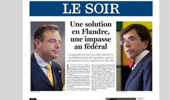 Een oplossing voor Vlaanderen, een impasse voor België