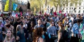 Londense klimaatactivisten saboteren modeweek