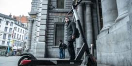 Verdelers elektrische deelsteps trekken weg uit Brussel