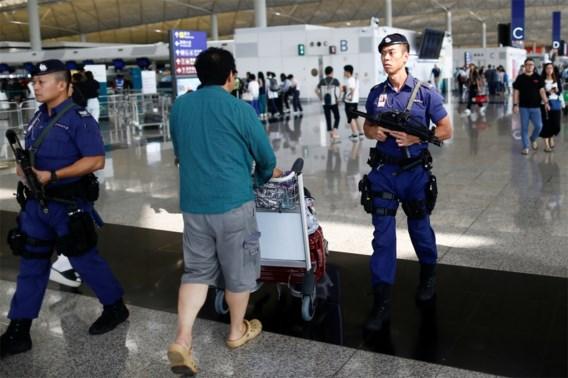 Rust keert voorlopig terug op luchthaven van Hongkong na protestverbod