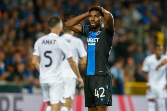 Club Brugge verliest voor het eerst punten