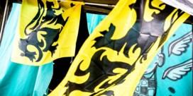 Waar komt de vlag met volledig zwarte leeuw vandaan?