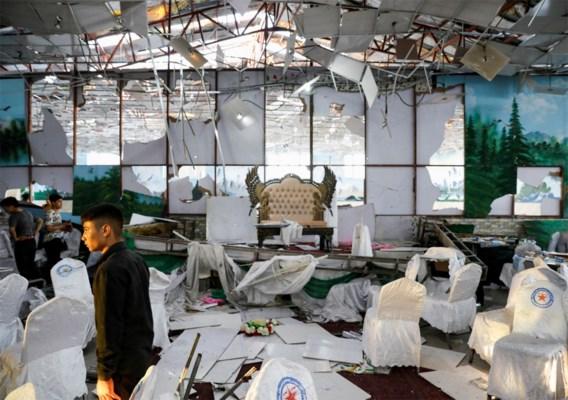 Minstens zestig doden bij aanslag op trouwfeest in Kabul, IS eist aanslag op