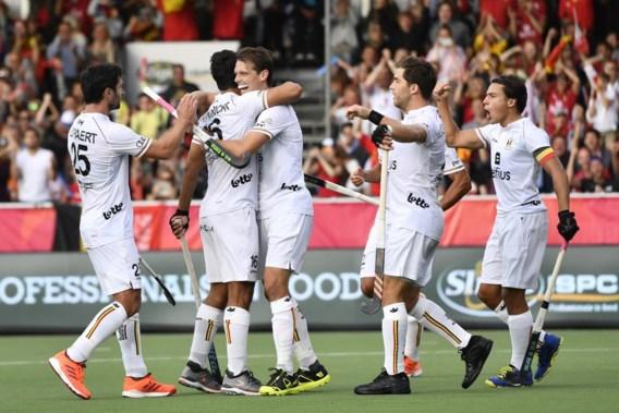 Belgische hockeymannen naar de halve finale na 2-0-zege tegen Engeland