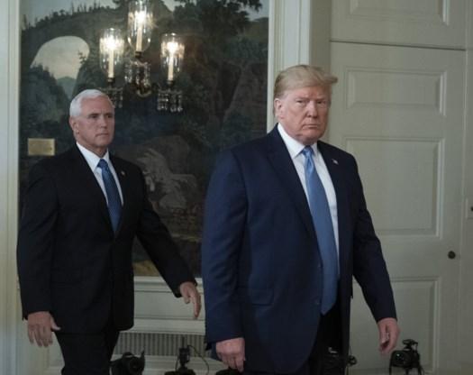 Trump kiest opnieuw voor Pence als running mate
