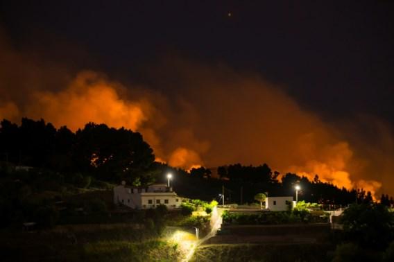 Meer dan 4.000 mensen geëvacueerd na bosbranden Gran Canaria