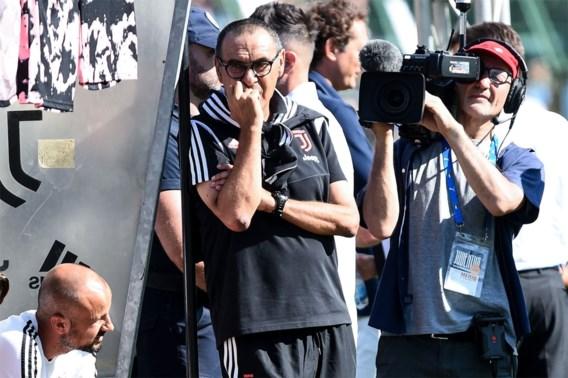 Juventus-coach Maurizio Sarri geveld door longontsteking