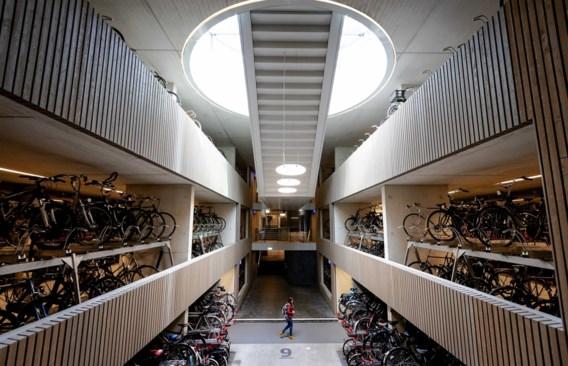 Niet Tokio, maar Utrecht pronkt met grootste fietsenstalling ter wereld