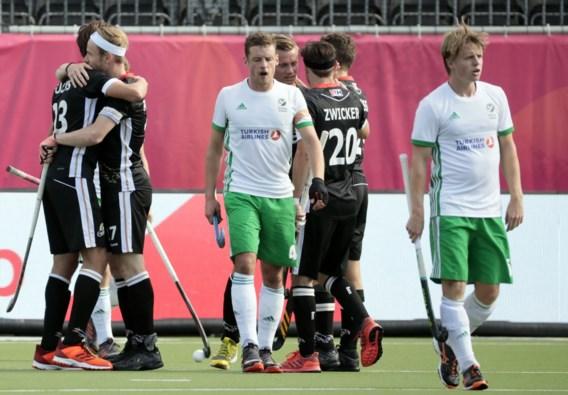Duitsland hakt Ierland in de pan en is favoriet om tegen de Red Lions uit te komen in halve finales EK hockey