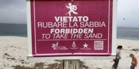 Ja, er moet nog zand zijn