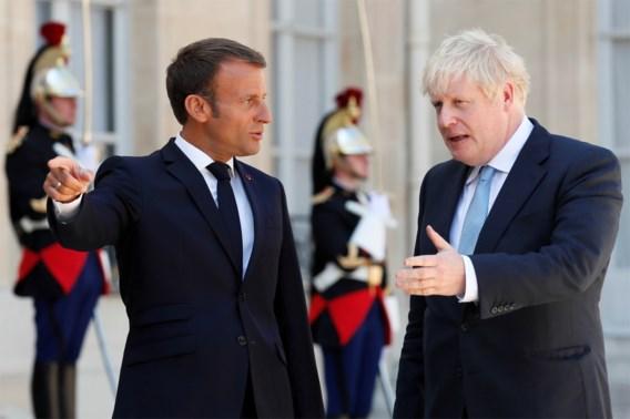 Merkel en Macron verhogen druk op Johnson