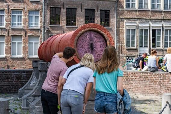 Bekendste kanon van Gent lokt veel bekijks met nieuwe toevoeging