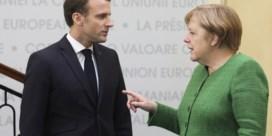 Merkel oneens met dreigement Macron aan Braziliaanse president