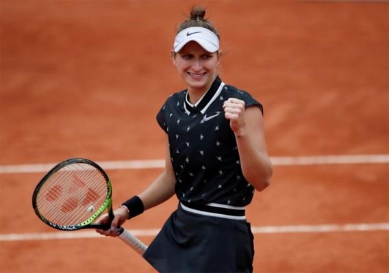 Roland-Garros-finaliste Marketa Vondrousova geeft forfait voor de US Open