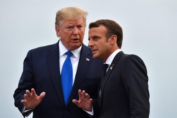 Macron stemt Trump mild