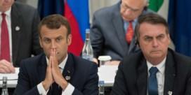 Ruzie tussen Bolsonaro en Macron wordt persoonlijk