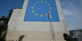Banksy's 'Brexit-muurschildering' verdwenen