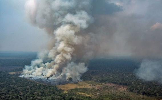 G7 maakt 20 miljoen dollar vrij voor brandende Amazone