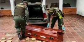 Politie treft 300 kilogram cannabis aan in doodskist