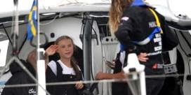 Greta Thunberg op Amerikaanse bodem na lange zeilreis: 'Dit is overweldigend'
