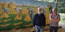 Schilderijen wekken vlasnijverheid tot leven