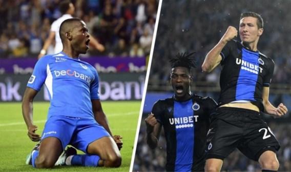 Op deze datums spelen Club Brugge en Racing Genk hun Europese topwedstrijden in de Champions League
